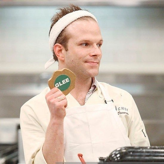 <p>Zac Young on Top Chef Just Desserts</p>