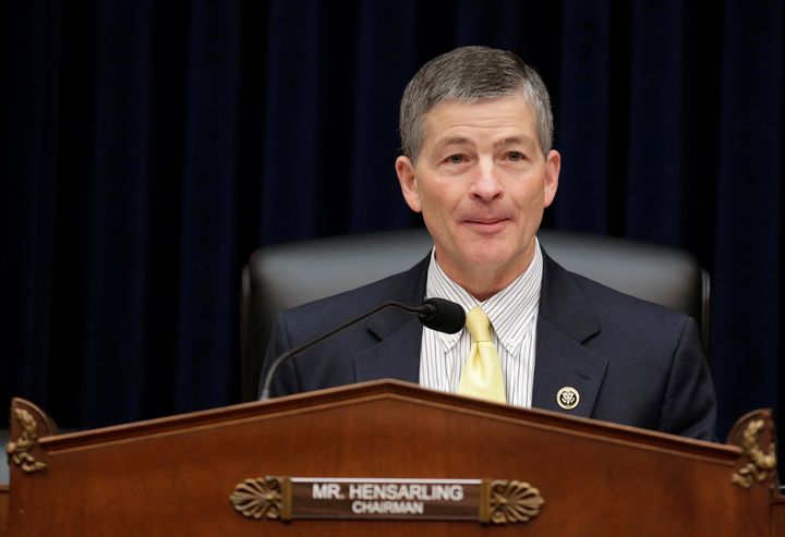 Rep. Jeb Hensarling (R-Texas), seen here in 2016, announced Tuesday that he will not seek re-election next year.