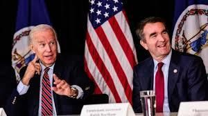 Former VP Joe Biden joins Lt. Governor Northam in a in roundtable with Virginia business owners in Reston, to discuss workfor