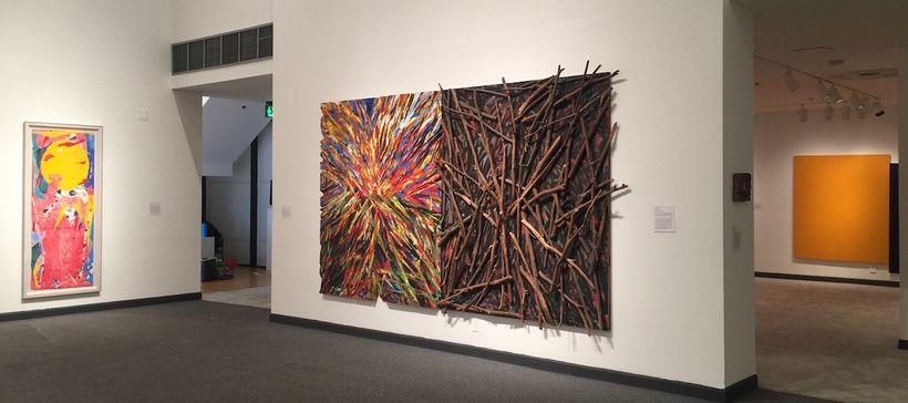 Installation View, <em>California Dreaming</em>. Wiseman Museum of Art at Pepperdine University. Malibu. Photo by Edward Gold