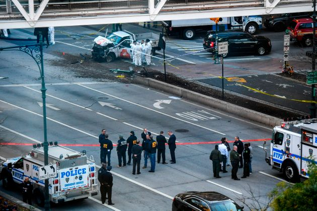 NY terrorist attack : 8 people killed, 11 injured in truck attack