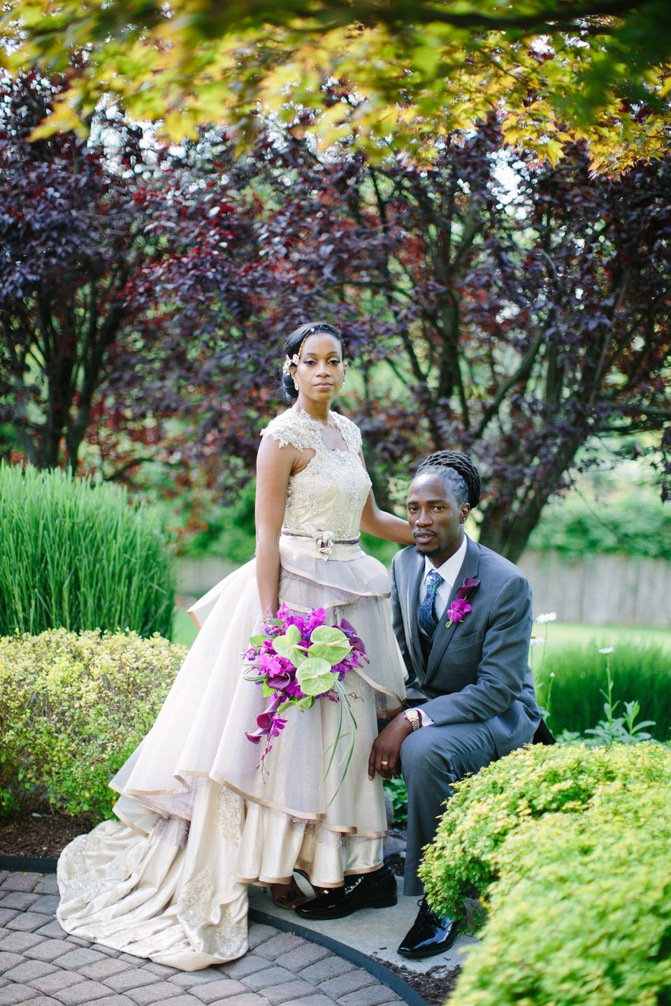 fb5fd6e0e6 11 Talented Brides Who DIYed Their Own Wedding Gowns And Impressed ...