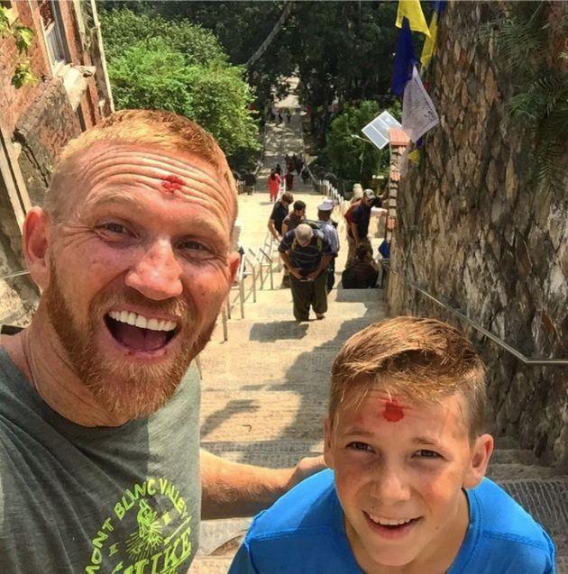 At Nepal'sMonkey