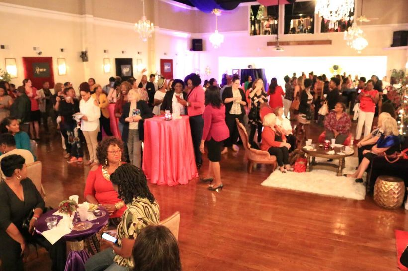 Hundreds of women gathered to Relax, Refresh, and Recharge!