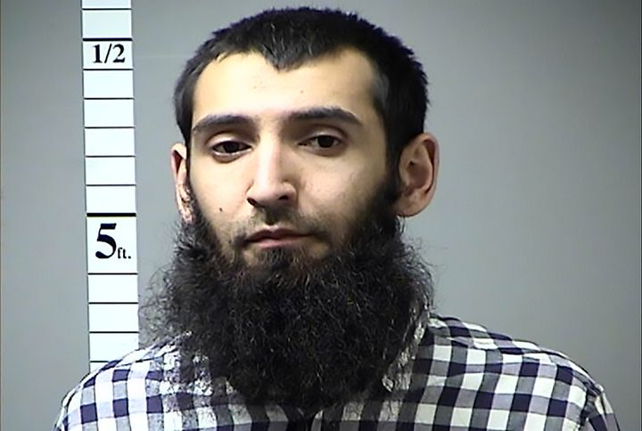 Sayfullo Habibullaevic Saipov is in police custody in New York City. The photo above was provided by the St. Charles County D