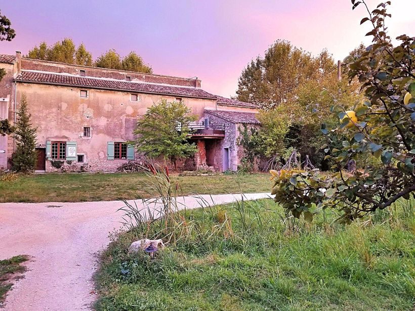 A little old farmhouse in Provence.