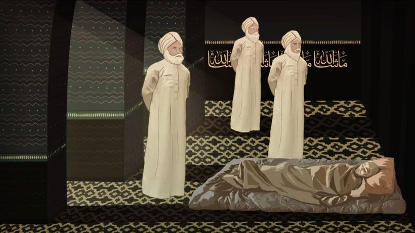 Three prophets visit Arshad in a dream