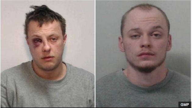 Burglar Ryan Gibbons (left) was sentenced to at least 27 years in prison for the murder of Mike Samwell,...