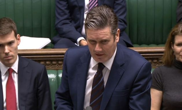 Keir Starmer in the House of
