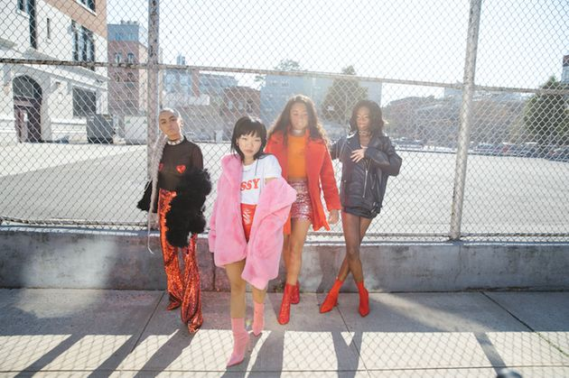 (L-R)Quin, Josephine Lee, Salem Mitchelland Aiesha