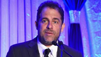 HOLLYWOOD, CA - OCTOBER 29:  Honoree Brett Ratner accepts the Tree of Life Award onstage during the Jewish National Fund Los Angeles Tree Of Life Dinner at Loews Hollywood Hotel on October 29, 2017 in Hollywood, California.  (Photo by Michael Kovac/Getty Images for Jewish National Fund)