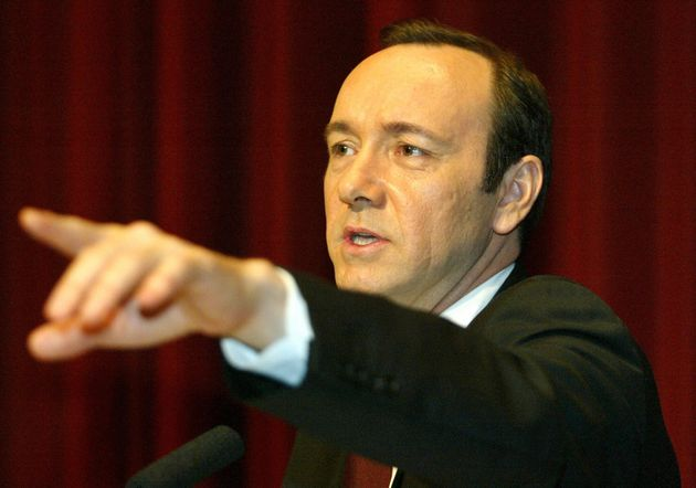 Spacey in 2003, shortly before his Old Vic role was