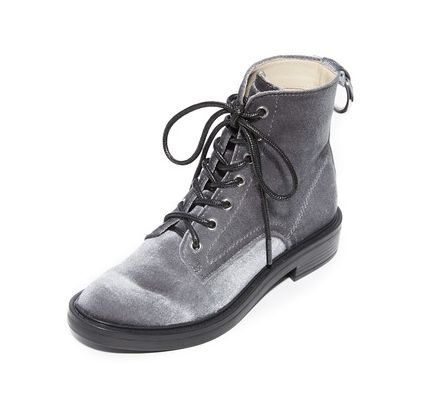 "Original price: $160<br>Sale price: <a href=""https://www.shopbop.com/bardot-lace-combat-boots-dolce/vp/v=1/1555009896.htm?fol"