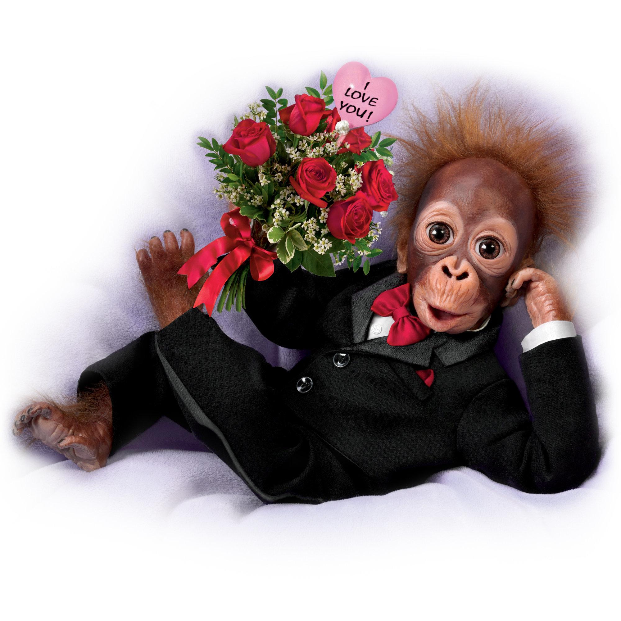 Orangutan Love Doll