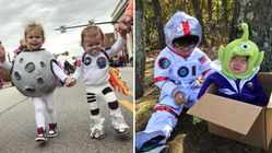 These Kids' Space-Themed Halloween Costumes Were Out Of This