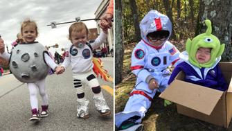 Space-themed Halloweens came out in full force this year