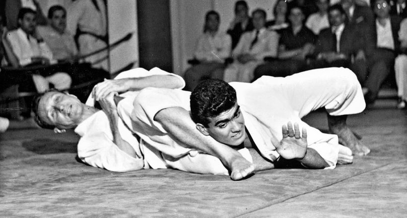BJJ challenge in the 1950s.
