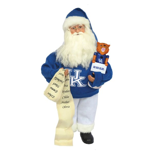 "Santa is known for his red suit, but when Christmas is over, he apparently <a href=""http://www.fanatics.com/COLLEGE_Kentucky_"