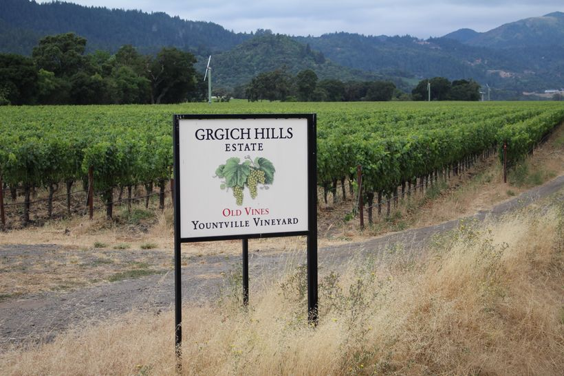 Very few wineries were damaged by the Napa fires