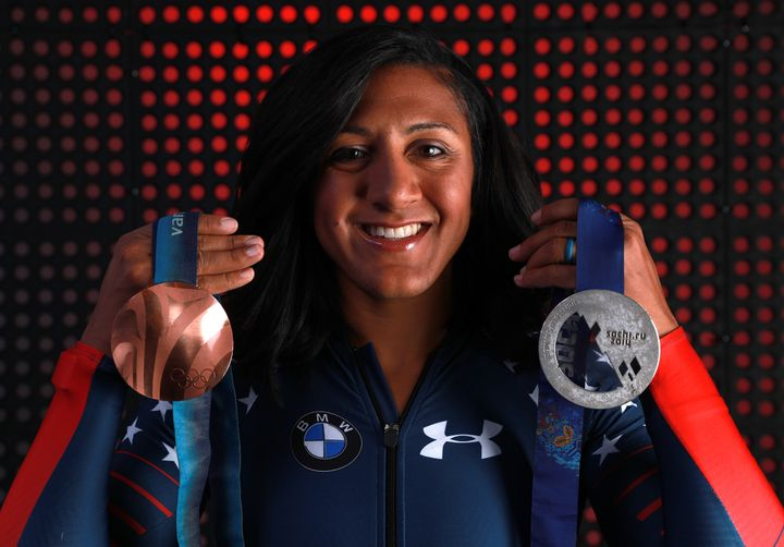 "The new ""Thank You, Mom"" ad drew inspiration from real athletes who have overcome bias, like bobsledder Elana Meyers Tay"