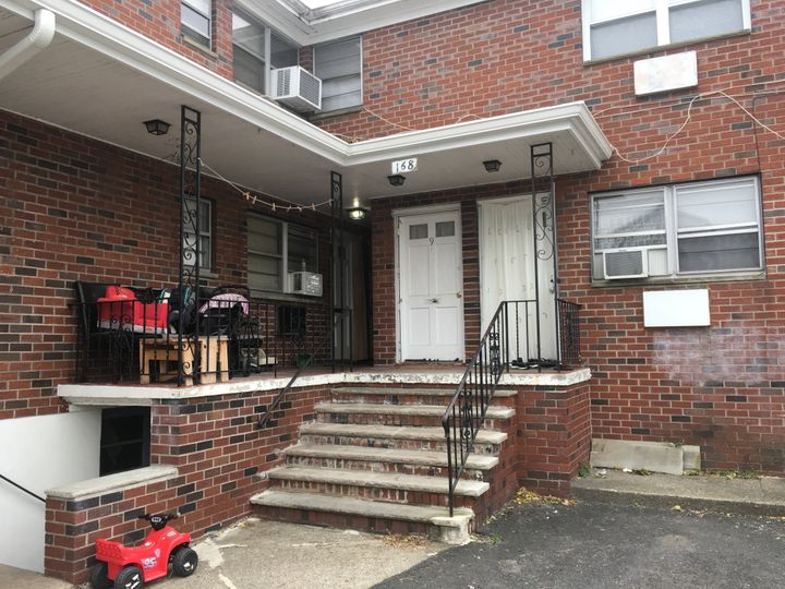 The exterior of the apartment Saipov was renting in Paterson, New Jersey.