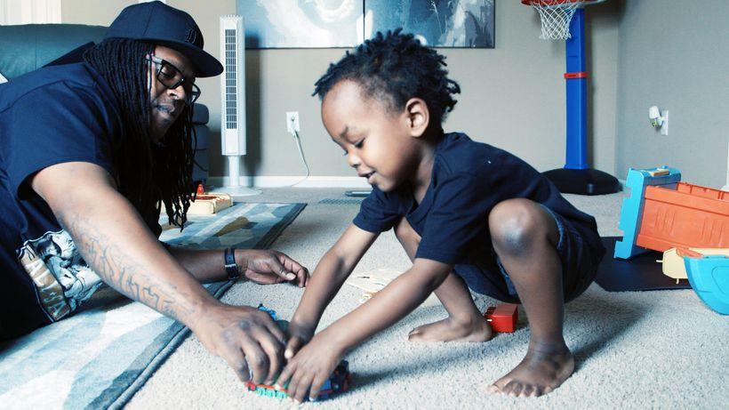 BMe Genius Shaka Senghor and son in PBS Docu-Series, Pops.
