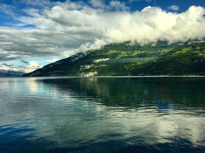 Lake Thun, one of the stunning lakes to fall in love with