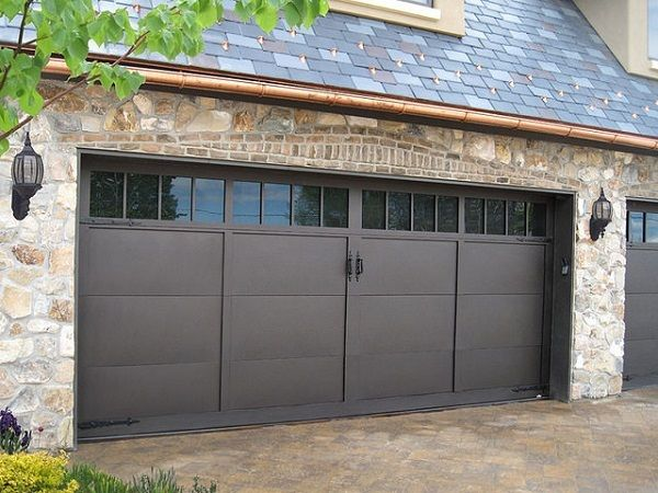 Solid garage doors to protect your prized car.