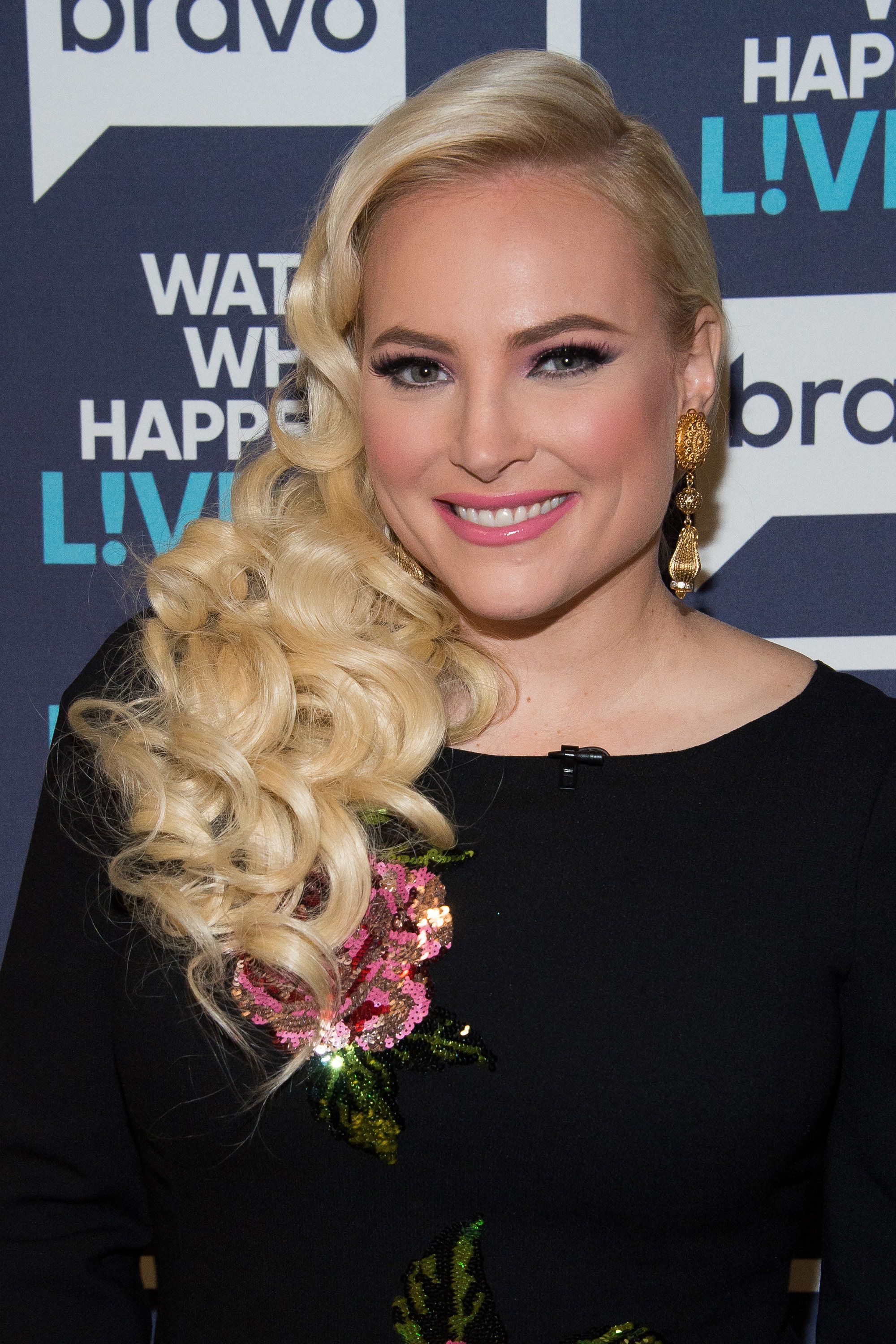 WATCH WHAT HAPPENS LIVE -- Pictured: Meghan McCain -- (Photo by: Charles Sykes/Bravo/NBCU Photo Bank via Getty Images)