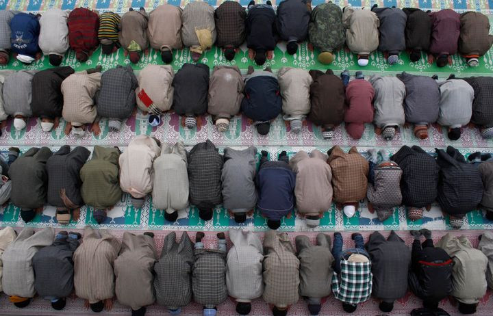 Allahu akbar is said during prayer and also in everyday conversations -- as an expression of celebration.