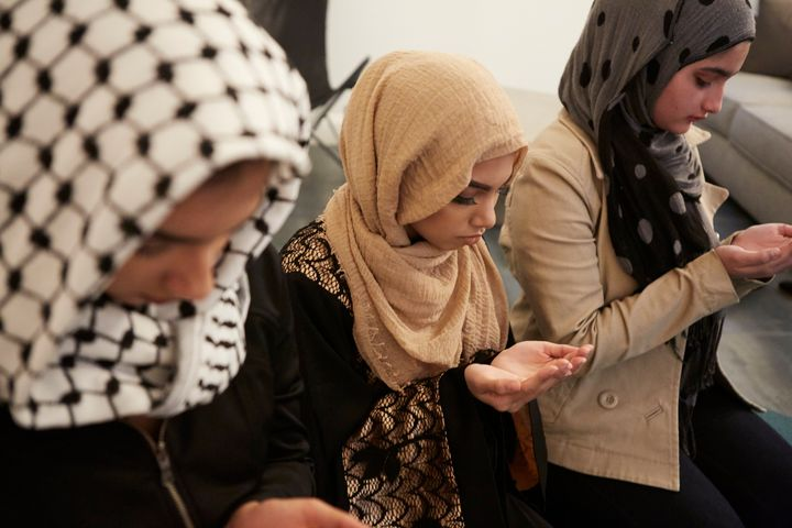 Muslims repeat Allahu akbar as a transition between different positions used during prayer.