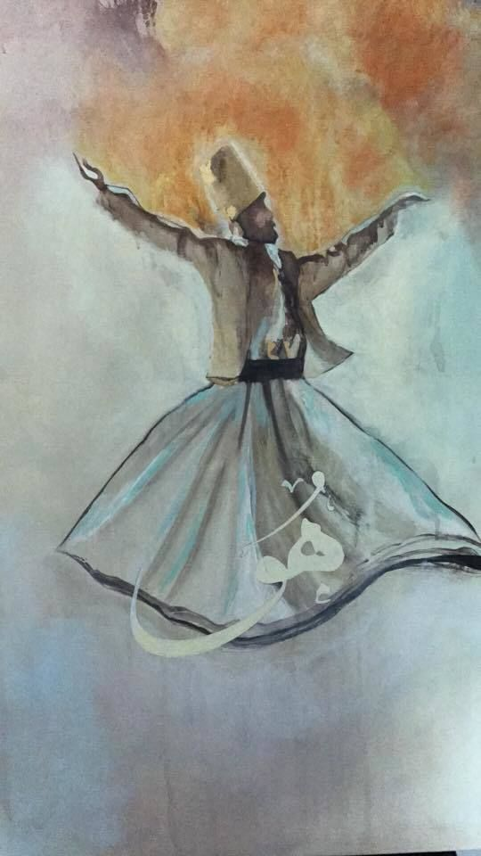 Whirling Dervish over the Ocean of Hu!