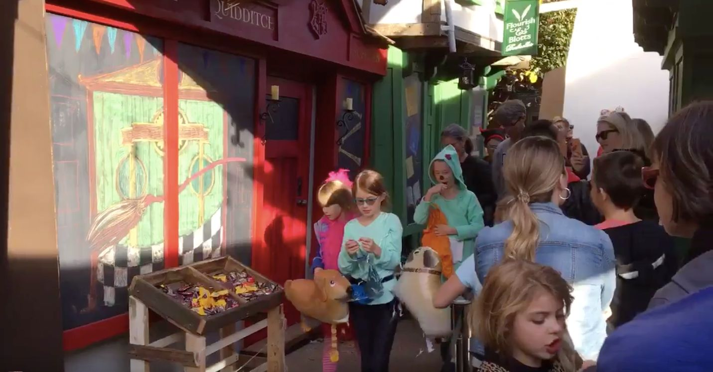Muggle Dad's Homemade Diagon Alley Will Make You Believe In