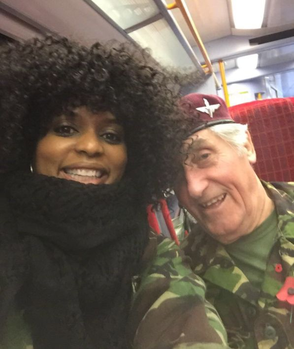 86-Year-Old Veteran Raised Over £100,000 For Charity After A Chance Meeting On A