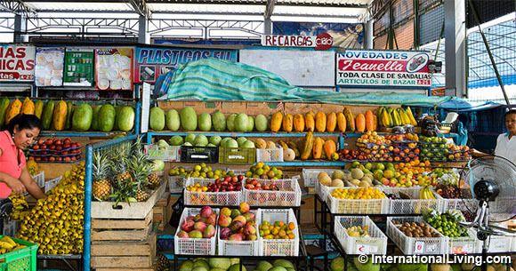 Market, Salinas, Ecuador.