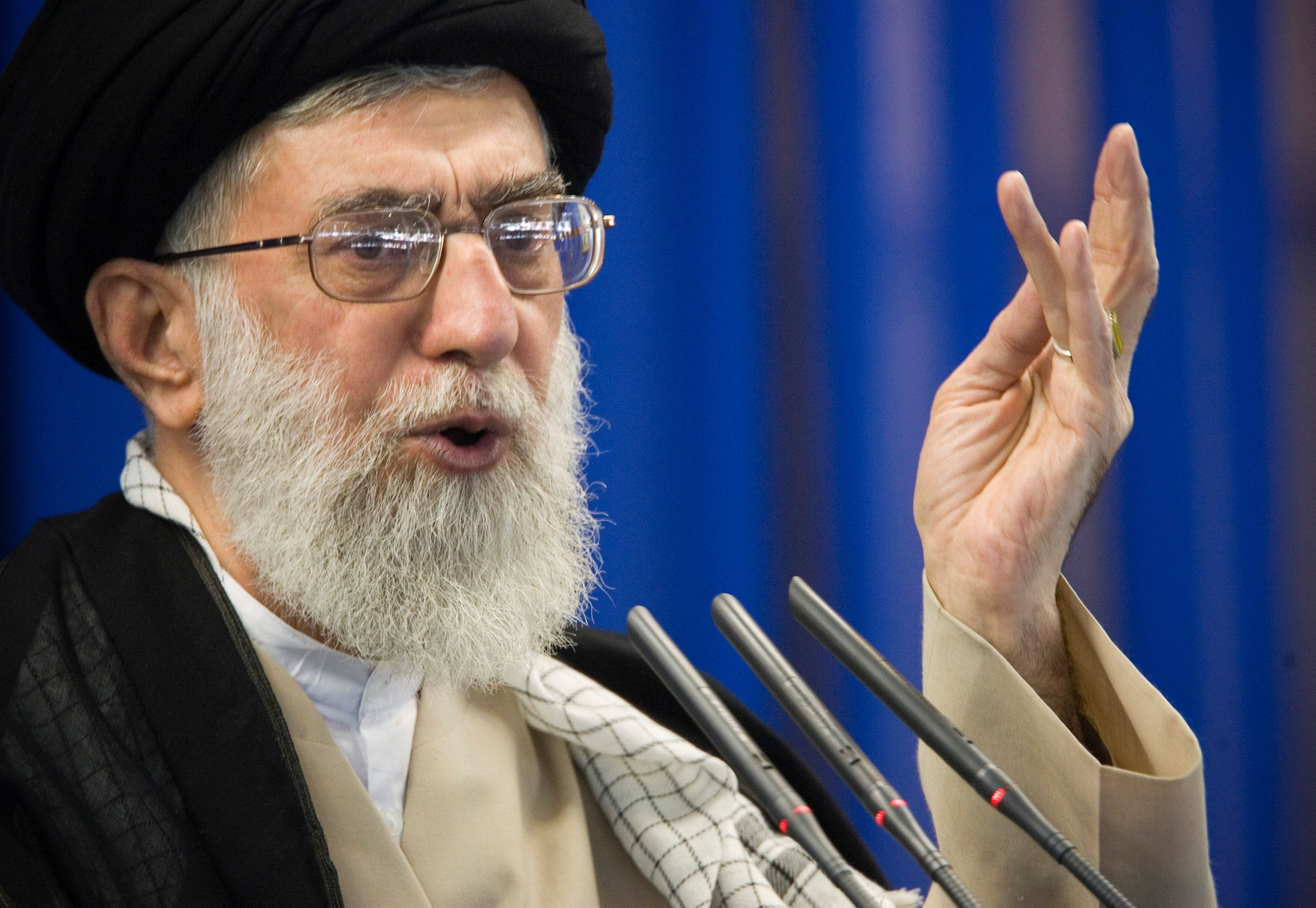 Iran's Supreme Leader Ayatollah Ali Khamenei said Tehran will not succumb to Washington's pressure over a multinat