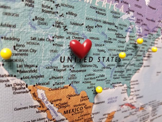Push Pin Travel Maps : The Perfect Gift For A Traveler ...