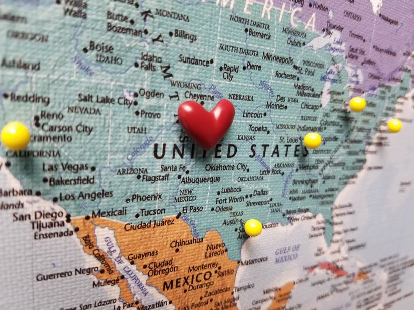 Push Pin Travel Maps : The Perfect Gift For A Traveler | HuffPost