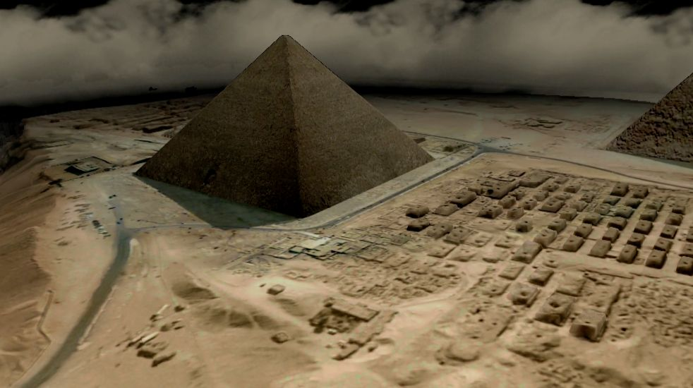 the history and mystery of the great pyramid Start studying solving the mystery of the great pyramid learn vocabulary, terms, and more with flashcards, games, and other study tools.