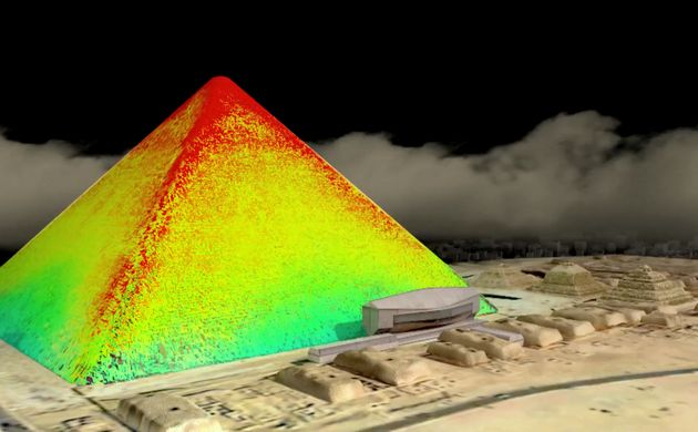 Infrared thermography readings of the structure were also