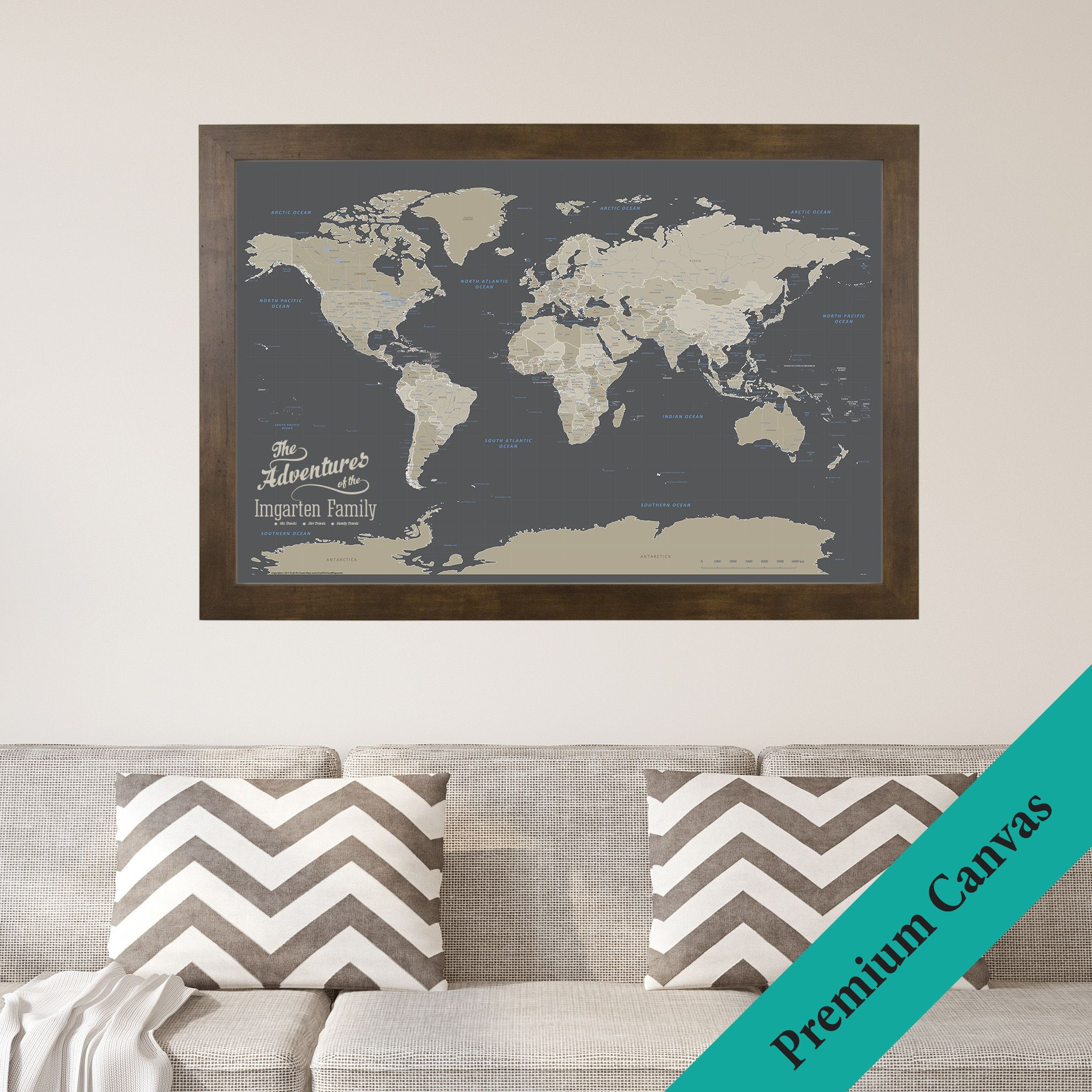 Push Pin Travel Maps The Perfect Gift For A Traveler HuffPost