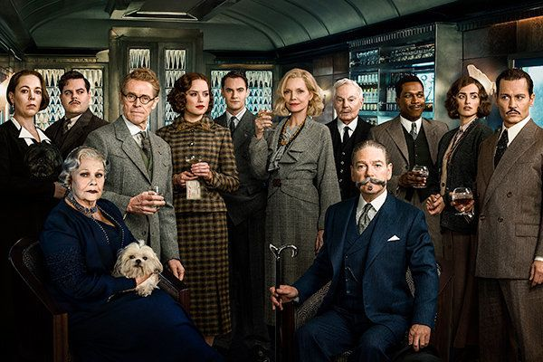 See All The Action From Tonight's 'Murder On The Orient Express'