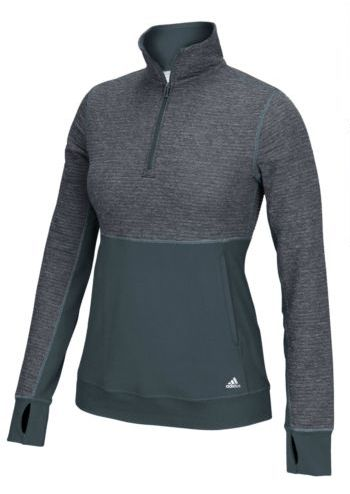 "Original price: $60<br>Sale price: <a href=""https://www.ebay.com/itm/adidas-Womens-CLIMALITE-Twist-1-2-Zip-Pullover-Tee-Athle"