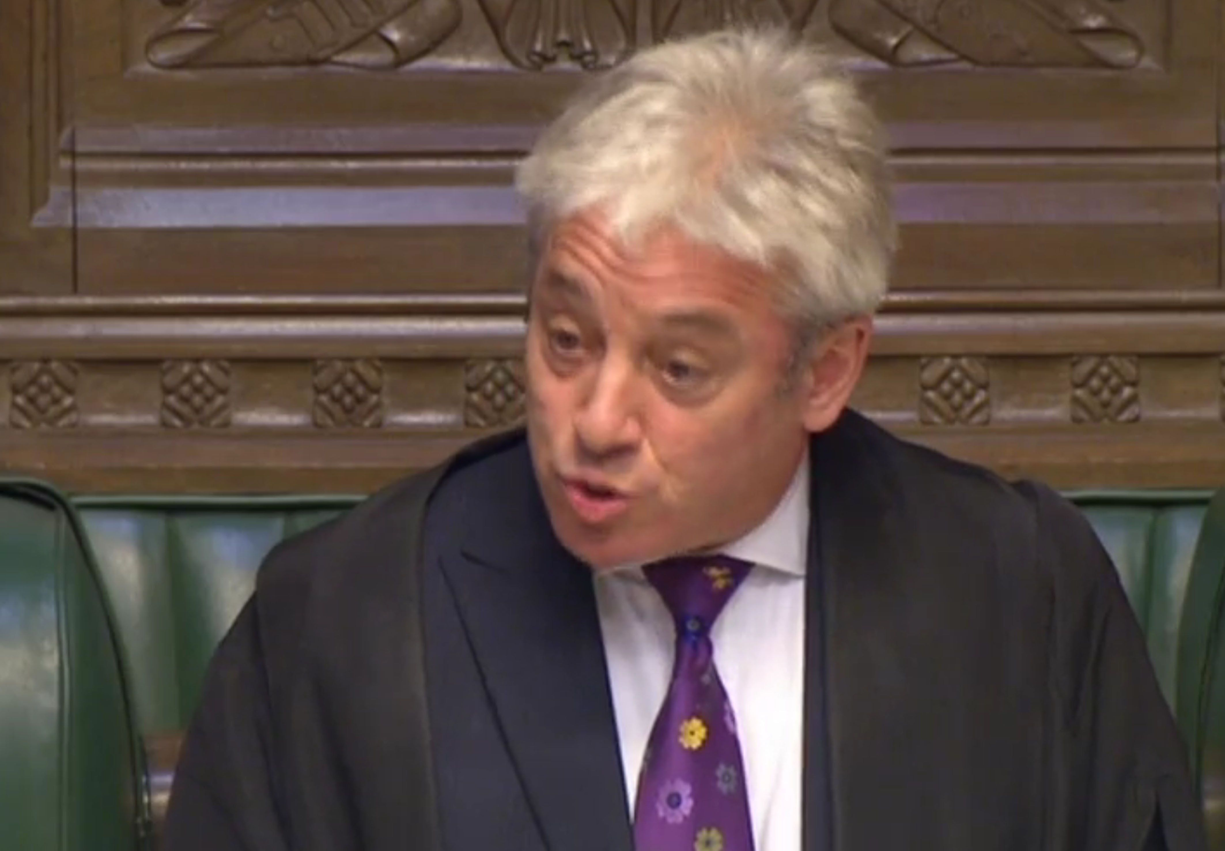 "Commons speaker John Bercow said the culture in Westminster is ""disturbing""."