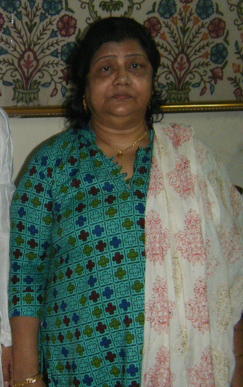My aunt, Naidu Fufu, on the night that I met her. She passed away earlier this year.
