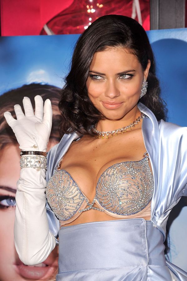 Adriana Lima reveals the $2 million bombshell fantasy bra designed by Damiani exclusively for Victoria's Secret at Victoria's
