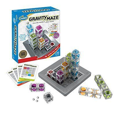 "It's a game of logic. <br><strong>Price: <a href=""https://www.amazon.com/Think-Fun-1006-T-Gravity-Maze/dp/B00IUAAK2A?tag"