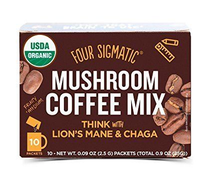 This is exactly what it sounds like: coffee mixed with mushroom extracts. It supposedly gives you the caffeine you need, with