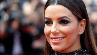 70th Cannes Film Festival - Event for the 70th Anniversary of the festival - Red Carpet Arrivals - Cannes, France. 23/05/2017.  actress Eva Longoria poses. REUTERS/Regis Duvignau