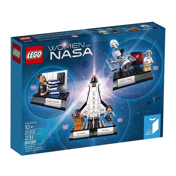 It includes four minifigures of Nancy Grace Roman, Margaret Hamilton, Sally Ride and Mae Jemison<br><strong>Price: <a hr